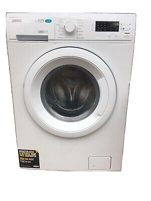 Pre Owned Zanussi ZWD81663NW 8Kg Washer/Dryer In Excellent Condition 2 Years Old • 150£