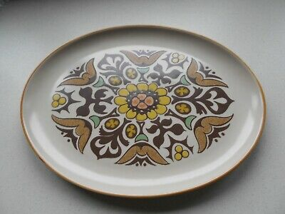 Denby/ Langley Pottery Canterbury Large Oval Serving Dish    • 8.99£