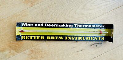 Brewing Thermomenter For Wine & Beer New / Unused • 6.99£