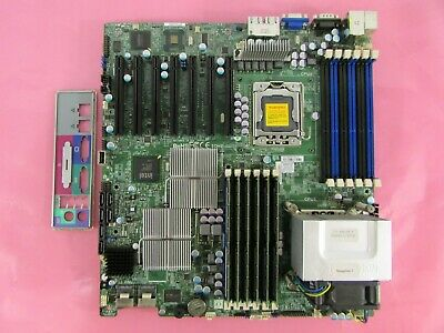 $ CDN226.78 • Buy Supermicro X8DTH-6F LGA1366 DDR3 Ext. ATX Motherboard W/ CPU,96GB RAM,I/O Shield