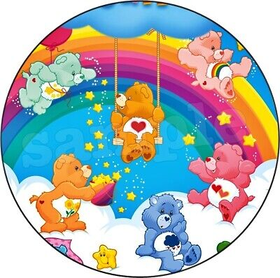 £4.49 • Buy Care Bear Edible Cake Topper Premium Wafer Paper Birthday Party Decoration New