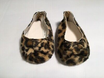"18"" Doll Leopard Print W Bow Shoes, Fits OG, My Life, Madame Alexander • 2.22£"