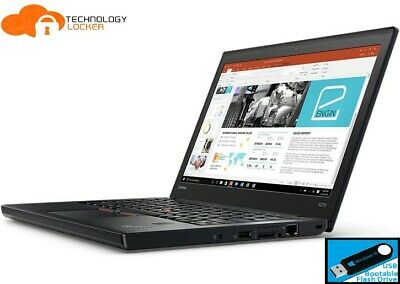 AU550 • Buy Lenovo ThinkPad X270 12.5  Laptop Intel I5-6300U 8GB RAM 128GB SSD Win 10 Pro