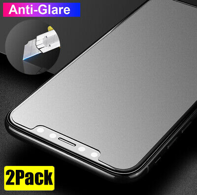 AU5.22 • Buy 2Pcs Anti-Glare Matte Tempered Glass Screen Protector For IPhone 12 Pro Max Film