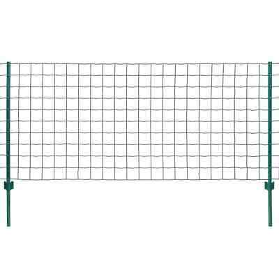 VidaXL Euro Fence Set 20x1m Steel Green Outdoor Garden Patio Wire Mesh Panel • 94.99£