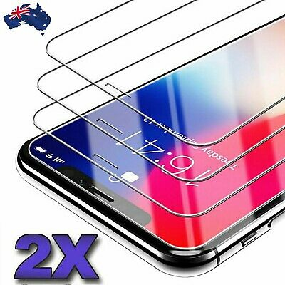 AU3.99 • Buy 2x IPhone 11 12 PRO XR XS Max 7 8 6S Plus 4s 5 Tempered Glass Screen Protector