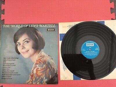 The World Of Lena Martell Vinyl LP - SPA246, Decca, 1972, UK, Compilation • 1.99£
