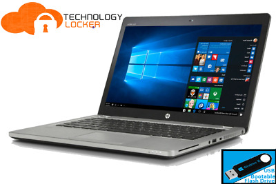 AU375 • Buy HP EliteBook Folio 9480m 14  Laptop Intel I5-4210U 8GB RAM 128GB SSD Win 10 (b)