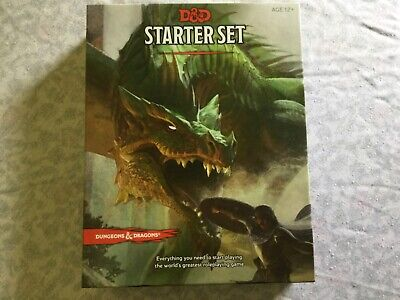 AU15 • Buy Dungeons And Dragons 5e Starter Set.Very Good Condition. With Box And Dice.