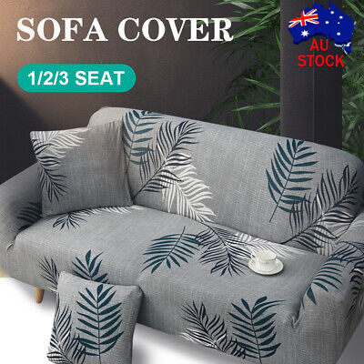 AU23.69 • Buy Stretch Sofa Cover 1 2 3 Seater Couch Lounge Recliner Sofa Slipcover Protector