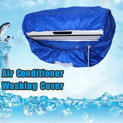 AU24.99 • Buy Washing Bag Anti Dust Tools Useful Waterproof Air Conditioner Cover Cleaning AU