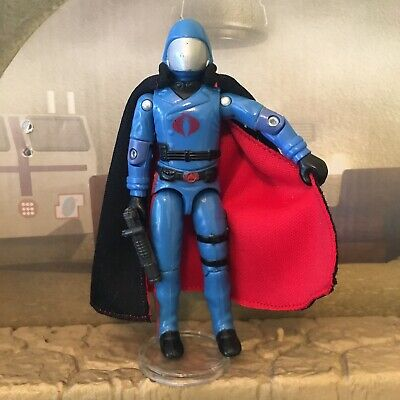 $ CDN15.68 • Buy Custom ARAH GI JOE COBRA COMMANDER Double Sided Cape (Cape Only) For V1 V1.5 V2