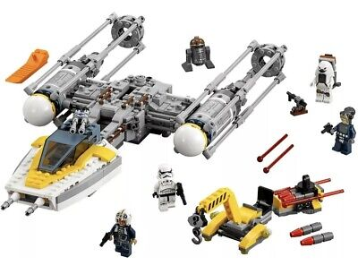 AU85 • Buy Lego 75172 Star Wars, Y-Wing Star Fighter, Pre-Owned, Complete.