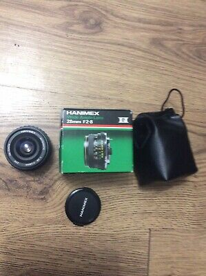 Hanimex 28mm Wide Angle Lens M42 Screw Fit • 25£