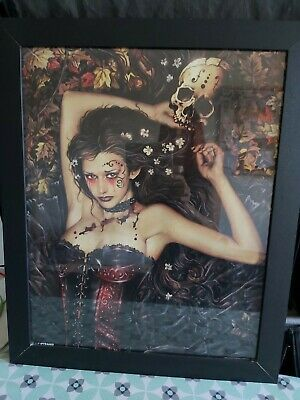 Gothic Picture Framed • 15£