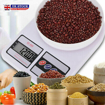 10kg Digital Electronic Kitchen Scale Post Office Mailing Parcel Weight Weighing • 5.99£
