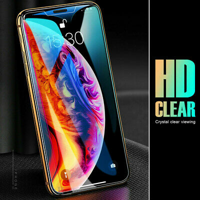 AU2.99 • Buy 1X Tempered Glass Screen Protector IPhone 8 7 4 5 6S 7 Plus 11 PRO Max XR X XS