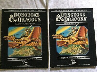 AU25 • Buy Dungeons And Dragons Master Set 4. Vintage. Used Without Box.