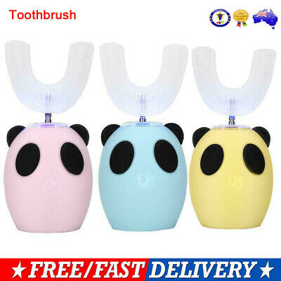 AU33.89 • Buy Smart U-Shaped Kids Automatic Toothbrush Automatic 360°Electric ToothBrush Gift