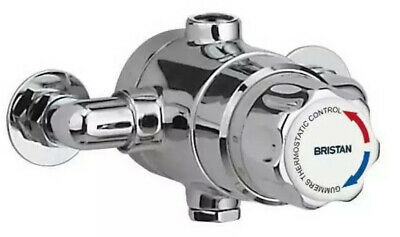Bristan Commercial TS1503 Thermostatic Mixing Valve 15mm - Chrome (No Shut-off) • 175£