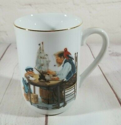 $ CDN8.37 • Buy Norman Rockwell Museum Vintage Collectible Mug -  For A Good Boy