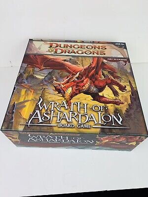 AU35 • Buy Wizards Of The Coast Dungeons & Dragons Wrath Of Ashardalon Board Game - As New