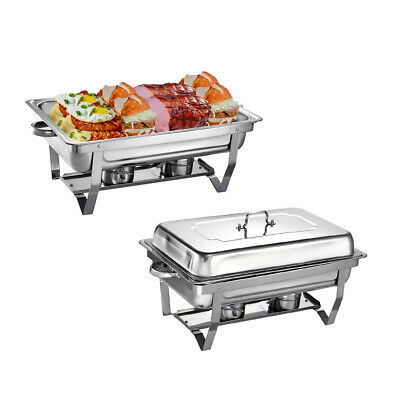 £49.98 • Buy 2pcs Stainless Steel Large Chafing Dish Sets