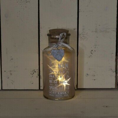 Special Nan Light Up Jar Messages Of Love Gift Range Birthday Christmas Gifts • 9.99£