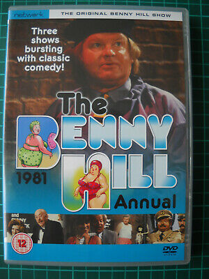 Benny Hill THE 1981 ANNUAL Network PAL R2 4:3 DVD • 8£
