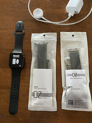 AU225 • Buy Apple Watch Series 4 44 Mm Space Grey Aluminum Case With Black Sport Band (GPS +