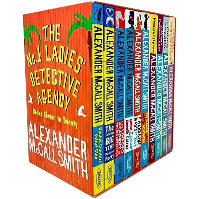 £16.32 • Buy No. 1 Ladies' Detective Agency Series 10 Books Collection Box Set By Alexander
