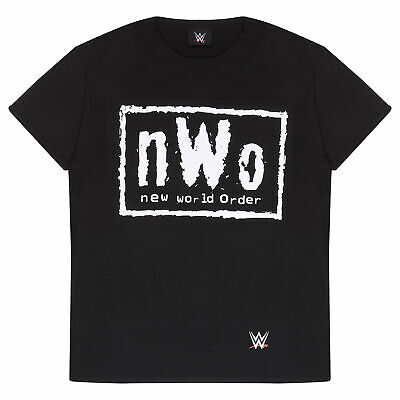 $ CDN24.18 • Buy Mens WWE T Shirt NWO Classic Logo Official Merchandise