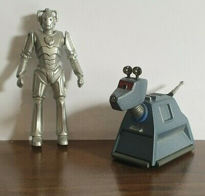 Dr Who Die Cast Cyberman And K9 Figures Collectable Christmas Gift  • 18£