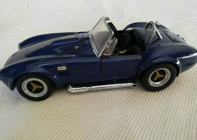 Kyosho Shelby Cobra 427 S/C  Blue 1:18 Die Cast Mint New • 64.99£