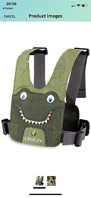 LittleLife Crocodile Safety Reigns / Toddler Harness Reins • 1.99£
