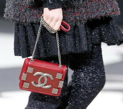 AU1999 • Buy CHANEL Mini Boy Lego Brick Plexiglass Flap Bag