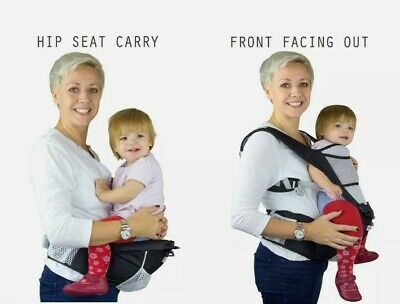 NimNak Baby Carrier 4in1 Sling Multi Position Hip Seat Support NEW Rrp £59.99 • 22£