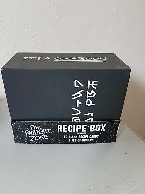 Recipe Box With Cards • 7£