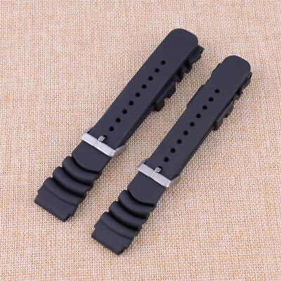 $ CDN14.39 • Buy Rubber Sport Watch Band Adjustable Strap Fit For Seiko Diver Scuba 20mm 22mm