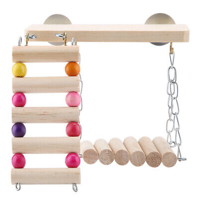 Small Animal Toy Hamster Toy Hanging Ladder Playground Toy Lack Of Exercise • 6.93£