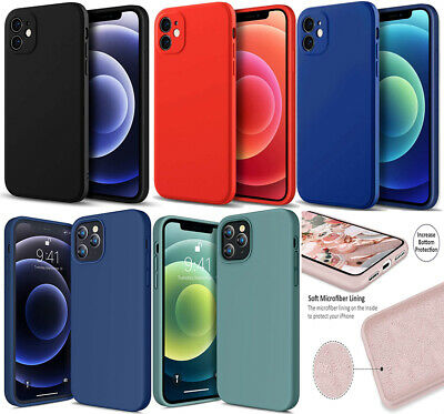 Genuine Liquid Silicone Case For IPhone 11 12 Pro Max XR XS 6s 7 8 Plus SE 2  • 3.99£