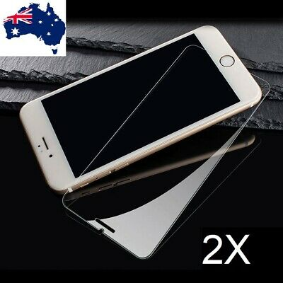 AU3.99 • Buy 2x IPhone 7 XR XS Max Pro X 11 12 8 6s Plus 4 5 Tempered Glass Screen Protector