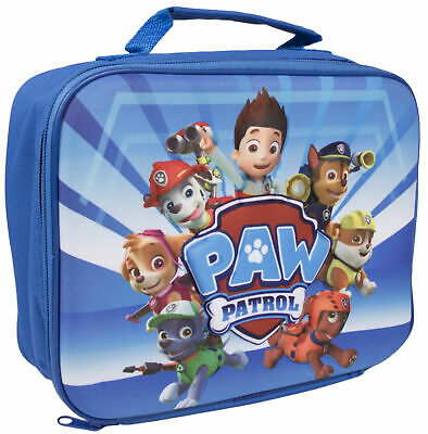 Paw Patrol 3D Lunch Bag Kids Character Insulated Cool Snack Box School Nursery • 5.99£