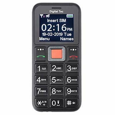 Digital Tec Big Button Mobile Phone For The Elderly, Unlocked, SOS Emergency • 31.33£