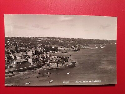 £11.99 • Buy POSTCARD ANGLESEY - MENAI FROM THE BRIDGE - EARLY 1900's.