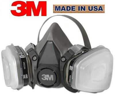 $ CDN55.67 • Buy 3M 6200 Half Facepiece 7 In 1 Set For Spraying And Painting MEDIUM
