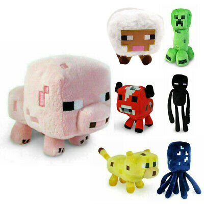 AU32.99 • Buy For Kids Gift Xmas Minecraft Animal Plush Toys Stuffed Animals Soft Toy Plushies