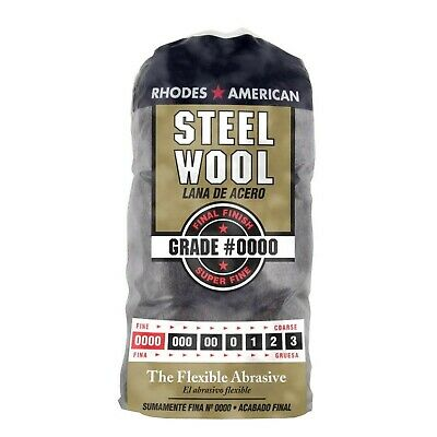$5.98 • Buy Steel Wool Cleaning Pad Super Fine Grade #0000 Rhodes American Final Finish 12ct