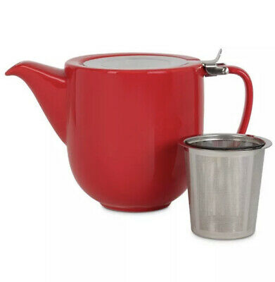 £12 • Buy Whittard Of Chelsea Red Fenxiang Teapot With Infuser Brew For 5 Tea Pot  346619
