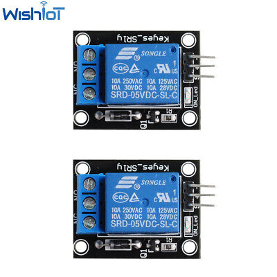 AU8.99 • Buy 2PCS 5V Relay Module Interface Boards SRD-05VDC-SL-C For Arduino 1 Channel